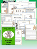 Human Body Systems Science and Literacy Lesson Set w/ DIGITAL Distance Learning