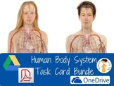 Human Body Systems Task Cards Bundle (Digital and PDF)