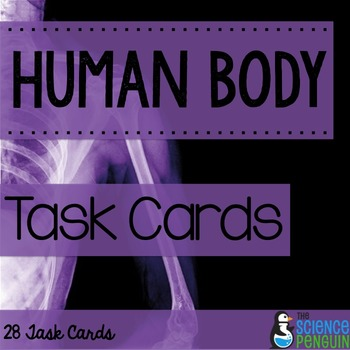 Human Body Task Cards