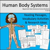 Human Body Systems Unit (Reading Passages and Activities)