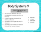 Human Body Systems Warm Up or Exit Ticket Digital Task Card Set