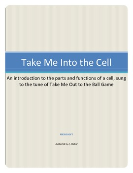 Human Body: Take me into the Cell Song