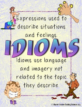 Human Body Theme ~ 31 Idioms