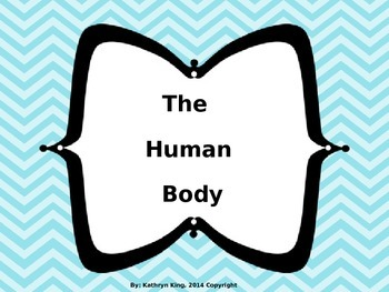 Human Body UNIT {Editable} with Two Interactive Books