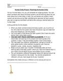 Human Body Unit Project- Teach Someone!