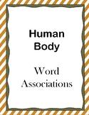 Human Body Word Associations