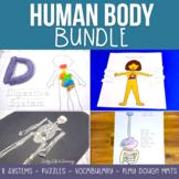 Human Body Worksheets Bundle