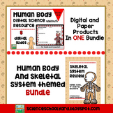 Human Body and Skeletal System Bundle