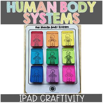 Human Body iPad Craftivity