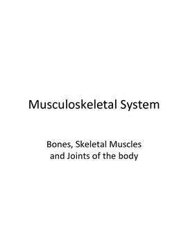 Human Body, the Coloring Book-Musculoskeletal
