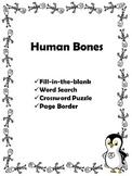 Human Bones Word Search +
