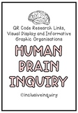 Human Brain Inquiry, Growth Mindset/ QR Code, Graphic Orga