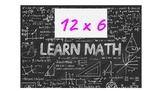 Human Calculator Multiplication 12's
