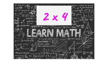 Human Calculator Multiplication 4's