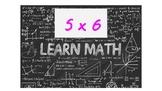 Human Calculator Multiplication 5's