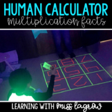 Human Calculator - Multiplication Facts and Factors Activity Game