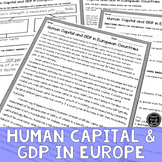 Human Capital Goods & GDP Reading & Writing Activity (SS6E9, SS6E9b)