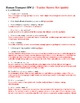Human Circulation - Transport Homework 2