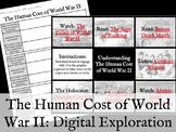 Human Cost of World War II Digital Exploration/Hyperdoc