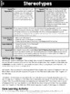 {Grade 6} Human Development and Sexual Health Activity Packet