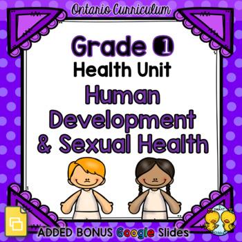 Human Development and Sexual Health – Grade 1 Health Unit