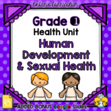 Human Development and Sexual Health – Grade 1 Health Unit
