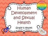 Human Development and Sexual Health Task Cards (Grade 5)