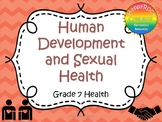 Human Development and Sexual Health Task Cards (Grade 7)