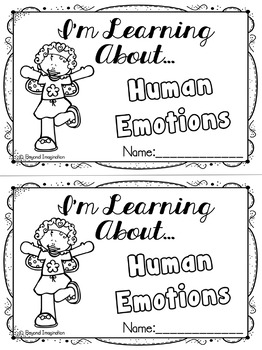 Human Emotions Fairy Edition | 60 Pages for Differentiated Learning +Bonus Pages