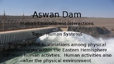 Human Environment Interaction - Aswan Dam