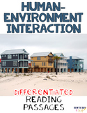 Themes of Geography: Human Environment Interaction Differentiated Reading Texts