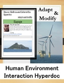 Human Environment Interaction Hyperdoc: Modify and Adapt Webquest