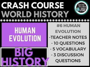 Human Evolution: Crash Course Big History #6