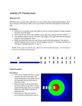 Human Eye Activities