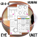 Human Eye Unit (PowerPoint Show, Unit Map, Mini Book, Puzzles, and Assessments)