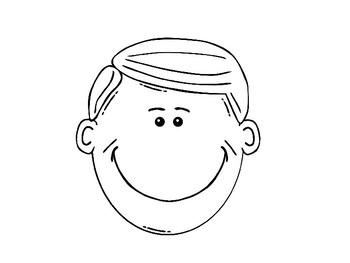 Human Face Clip Art and Templates