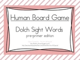 Human Game Board - Dolch Sight Words - Pre-primer