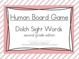 Human Game Board - Dolch Sight Words - Second Grade