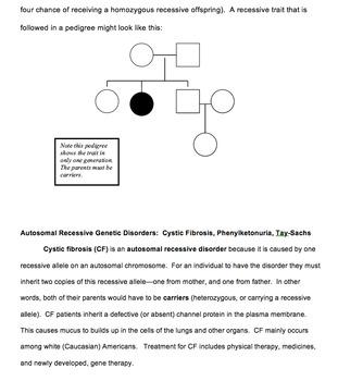 Human Genetics Bundled Unit