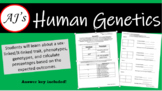 Human Genetics Worksheet