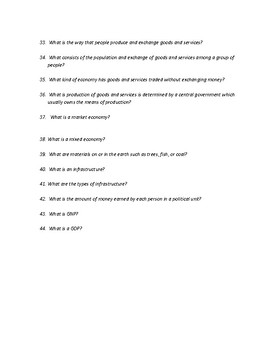 Human Geography People and Places Study Guide