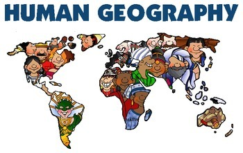 Human Geography People and Places Bundle