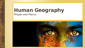 Human Geography Powerpoint