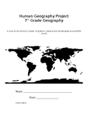 Human Geography Project - Tied to Geog & Common Core ELA s