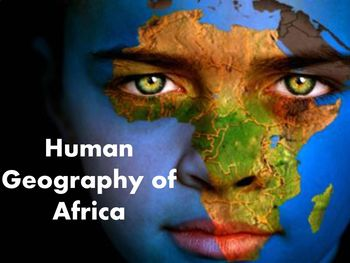 Human Geography of Africa Bundle