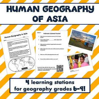 Human Geography of Asia Learning Activities