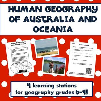 Human Geography of Australia and Oceania Activities