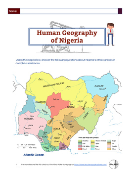 Human Geography of Nigeria