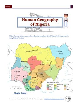 Human Geography of Nigeria