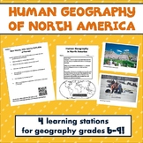 Human Geography of North America Activities